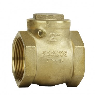 200# BRASS SWING CHECK VALVE